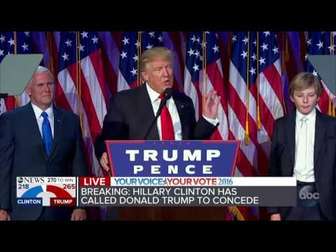 PART 1: Donald Trump elected President of the United States