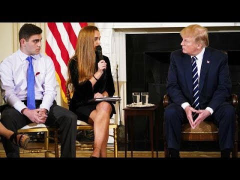 Trump's Meeting With School Shooting Surivors Doesn't End Well (VIDEO)
