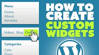 How To Create Custom Widgets Area In WordPress