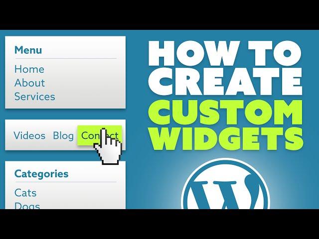 How To Create Custom Widgets Area In WordPress