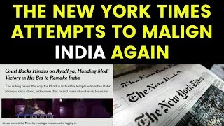 The New York Times attempts to Malign India again | NewsX