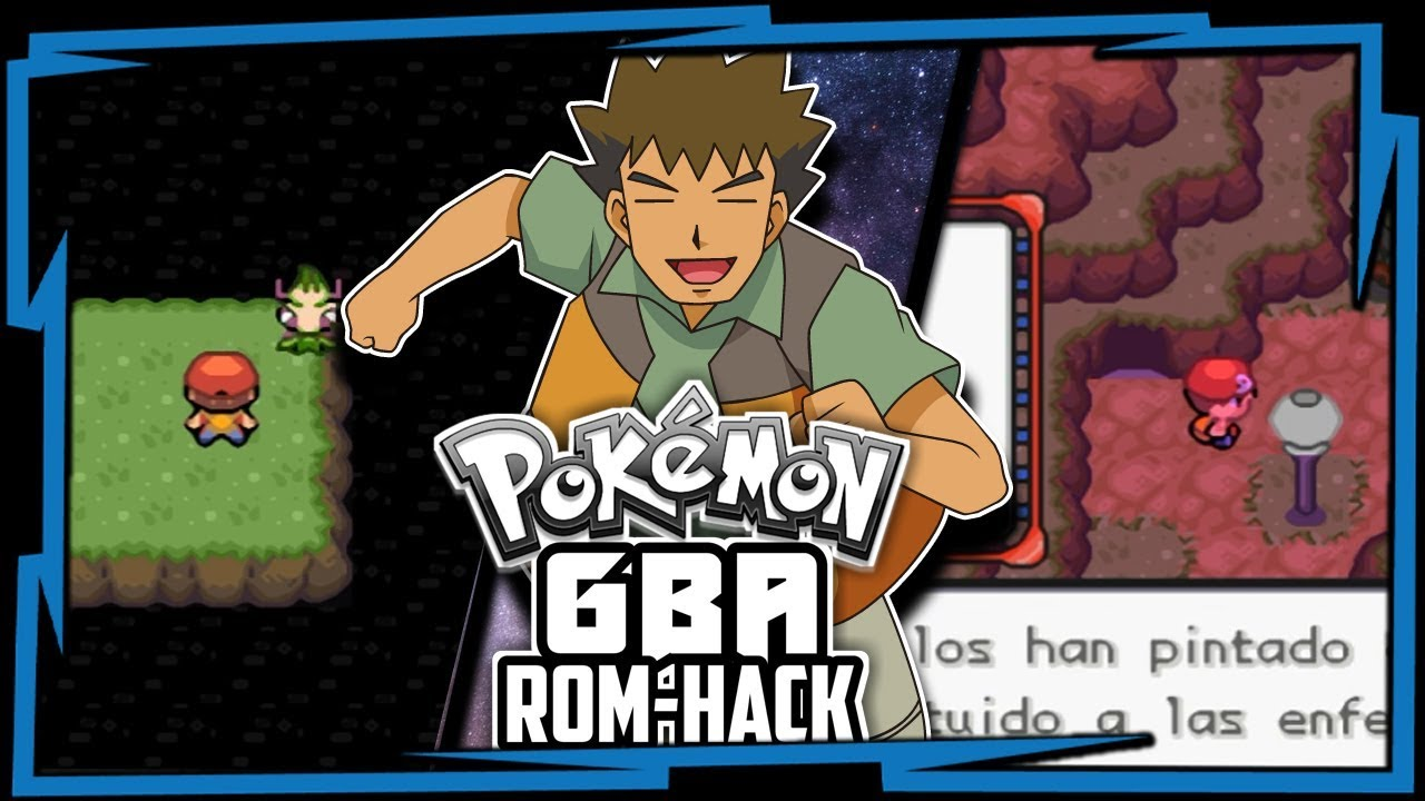 Pokemon Gba Rom Hack With New Starter New Story New Region