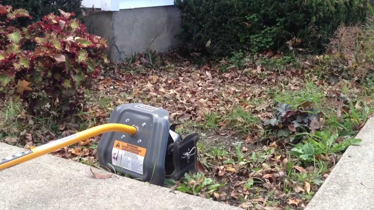 Review On The Ryobi Cultivator Attachment Youtube