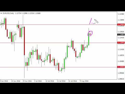 EUR/USD Technical Analysis for August 18 2016 by FXEmpire.com