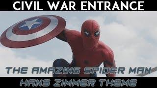Civil War Spider-Man Entrance with Hans Zimmer Theme (TASM 2)