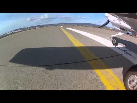 [HD] GoPro - Diamond DA-40 landing in Bratislava LZIB RWY 31 [HD]