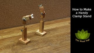 How to Make a Handy Clamp Stand / Vice / Vise - Woodworking Clamp Project