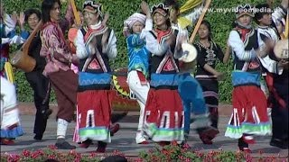 Kunming, Yunnan, dance of national minorities - China Travel Channel