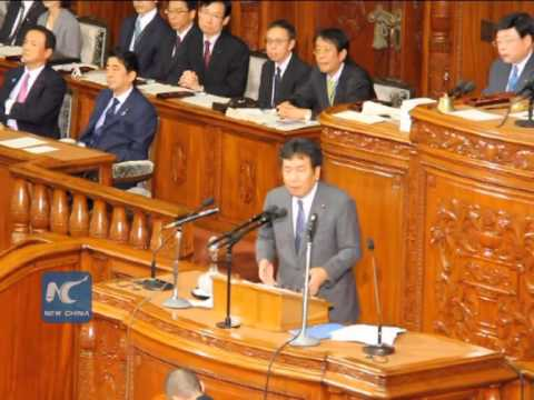 Japanese parliament's upper house enacts the controversial new security bill