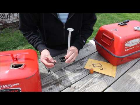 Mercury Outboard Fuel Tank Lens Kit Repair Tutorial