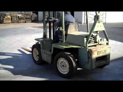 Clark IT40 Gasoline Forklift - Tag #44346