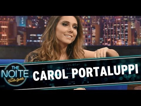 The Noite 23/04/14 - Carol Portaluppi (íntegra)