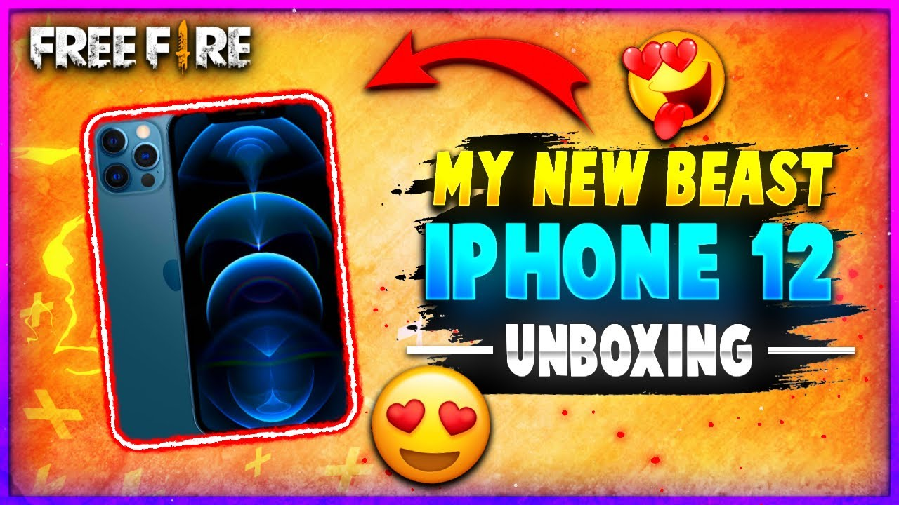 My New Gaming Phone For Free Fire 😍 - iPhone 12 Unboxing 🔥 | Sachin Kaswa 😇 | Vlog # 07