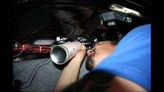 Установка светодиодного значка Honda Accord 8