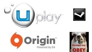 Uplay & Origin : C'est comme Steam, mais en moins bien