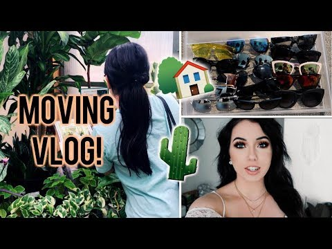MOVING VLOG #4! Dollar Tree Haul, Plant Shopping🍃🌵 Green Smoothie Recipe, Opening PR Packages