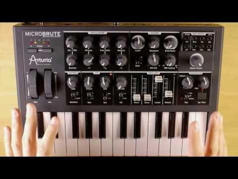 Arturia MicroBrute Analog Synth Demo
