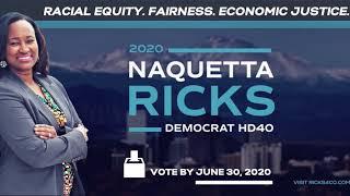 Naquetta Ricks Legislative Campaign Ad