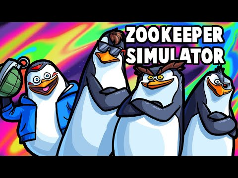 Zookeeper Simulator Funny Moments - We're Taking Out the Mookeeper!