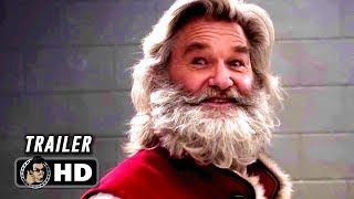 CHRISTMAS CHRONICLES Trailer #2 (2018) Kurt Russell as Santa Netflix Movie