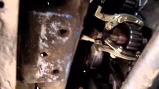 Определение стука в двигателе ваз 2105 и замена малой звездочки коленвала