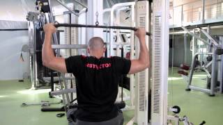 Lat pulldown - Bloomsbury Fitness Exercise Videos