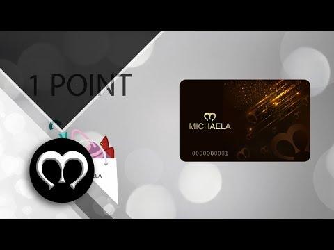 MICHAELA Loyalty Card