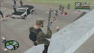 GTA San Andreas DYOM: Army vs Zombie