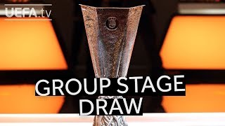 UEFA EUROPA LEAGUE 2018/19 GROUP STAGE DRAW