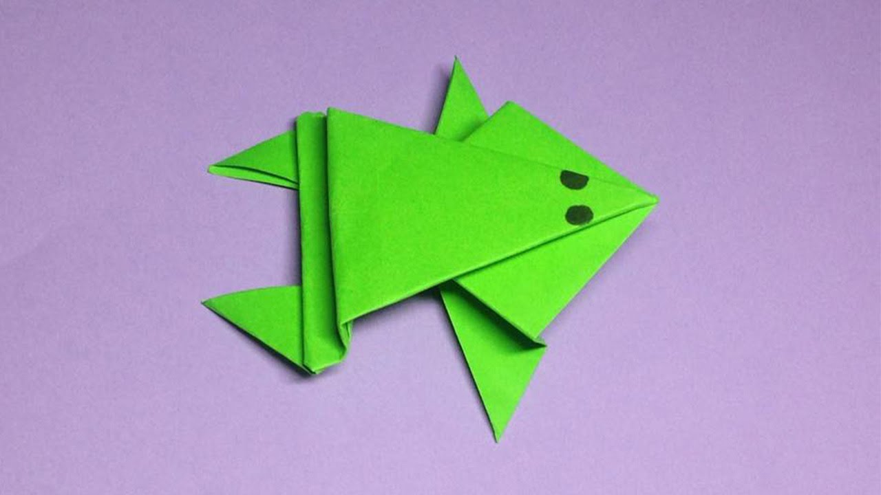 Easy Tutorial Make A Paper Frog