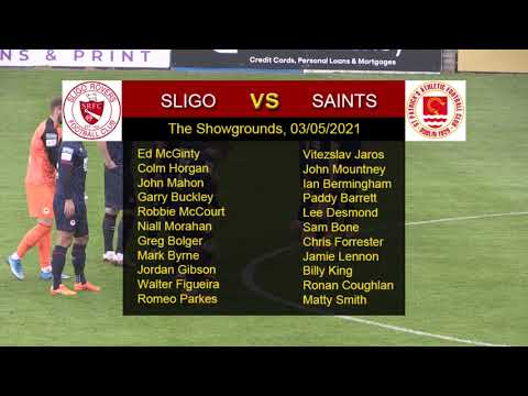 Highlights: Sligo 1 - Saints 1 (03/05/2021)