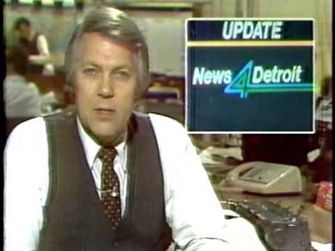 WDIV News 4 Detroit update & station ID December 1979