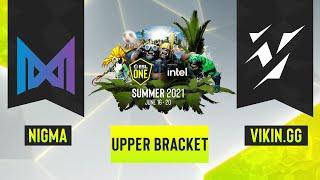 Dota2 - Vikin.gg vs. Team Nigma - Game 2 - ESL One Summer 2021 - Upper Bracket