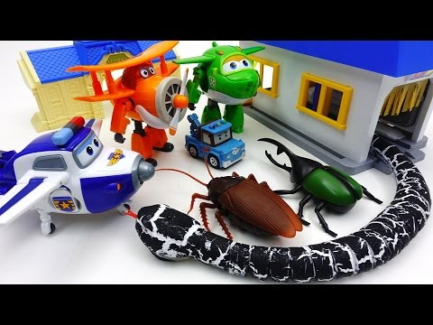 Thumbnail: Go Go Super Wings, Poli Town is Under Attack by Monster Bugs
