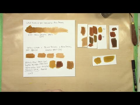 What Color Is Sienna >> How To Mix Raw Sienna Youtube