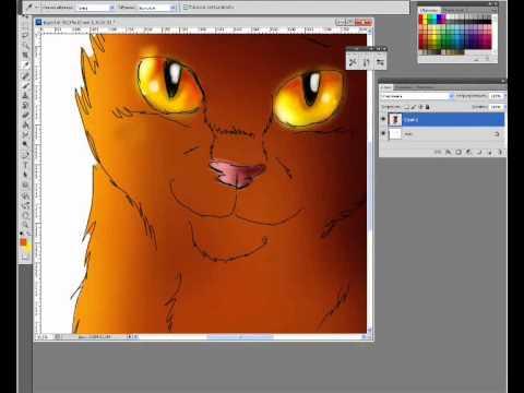 как рисовать арты на компьютере - фото 10