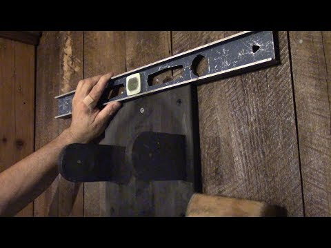The Woodpecker Ep 179 - New TV wall support for the cottage