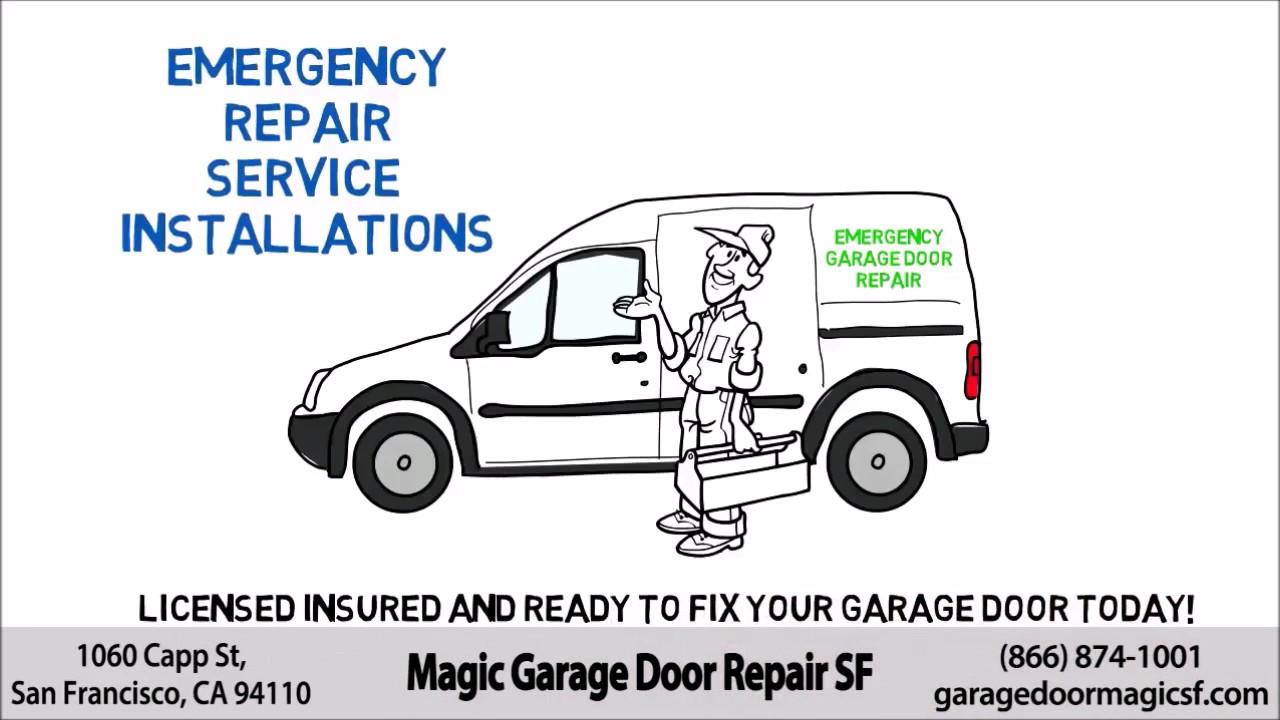 Garage Door Spring San Mateo CA (650) 835 4818 Cable