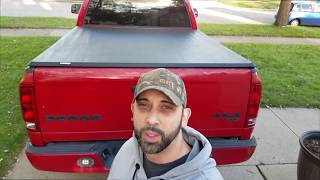 oEdRo Roll Up Truck Bed Tonneau Cover Review  ▏2003-2018 Dodge Ram 1500 2500 3500