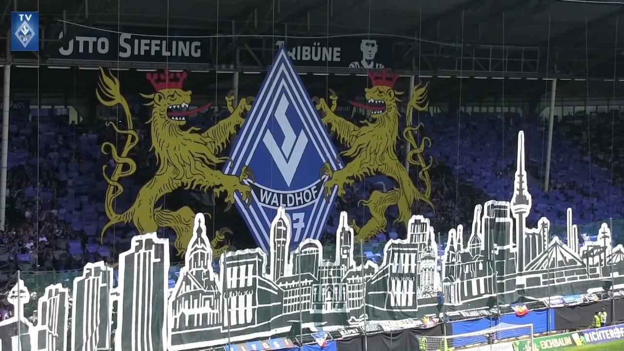 SV Waldhof Mannheim 07 Vs. SV Meppen (Stimmung Vor Dem