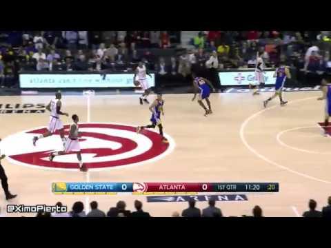 Golden State Warriors vs Atlanta Hawks - Full Game Highlights | Feb 22, 2016 | NBA 2015-16 Season