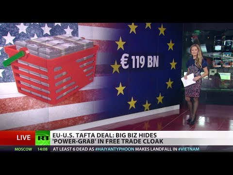 Corporation Above Nation: EU-US trade deal to harm consumers
