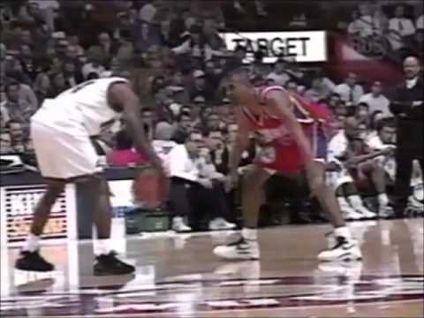 NBA Action Top 10 Dunks from 1994-95 season