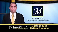 Auto Accident Personal Injury Attorney Lakeland FL Polk County FL http://www.McMannLaw.com