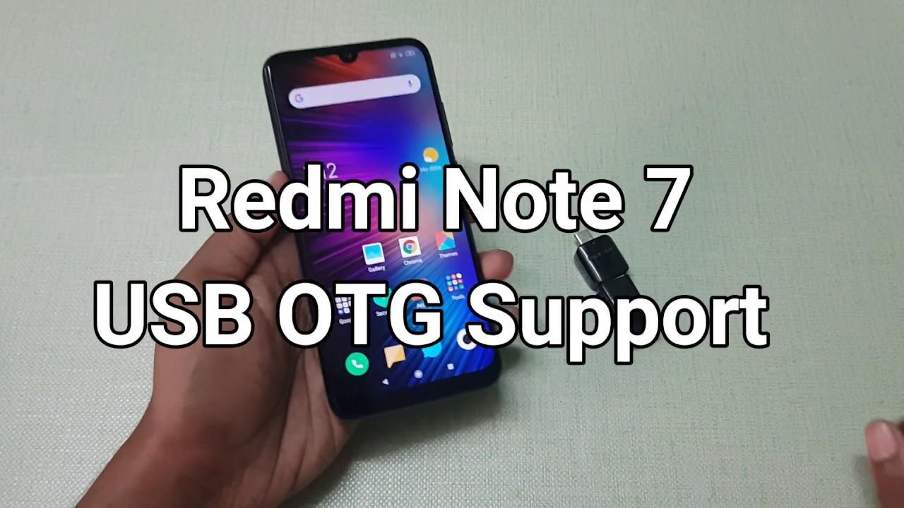 more photos ebe34 3bcf2 Xiaomi Redmi Note 7 USB OTG Support