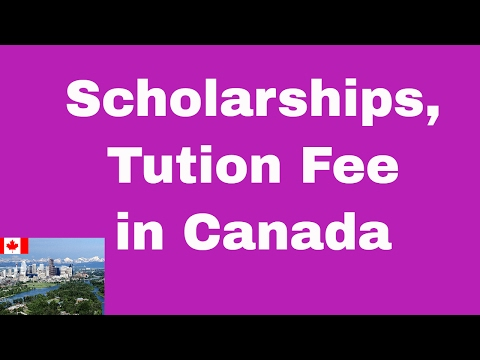 Tuition Fee, Cost of Living and Scholarships for Master Students in Canada, Study in Canada