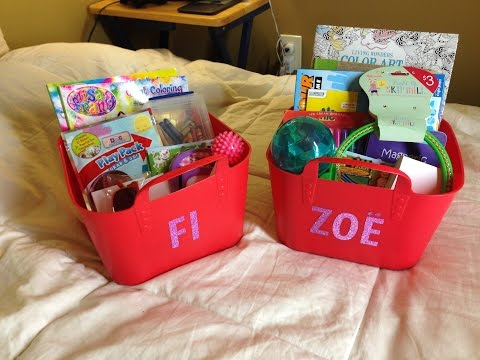 DIY Kids Travel Kit