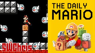 Super Mario Maker - The Daily Mario - Multifarious Monster Fortress! - Ep. 1