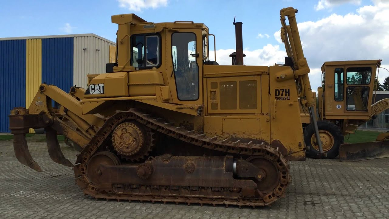 CAT D7H 1991 with ripper, 90% undercarriage