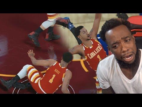 CMON DERRICK ROSE! STOP GETTING INJURED! AGAIN! NBA 2k18 MyCareer Ep.6